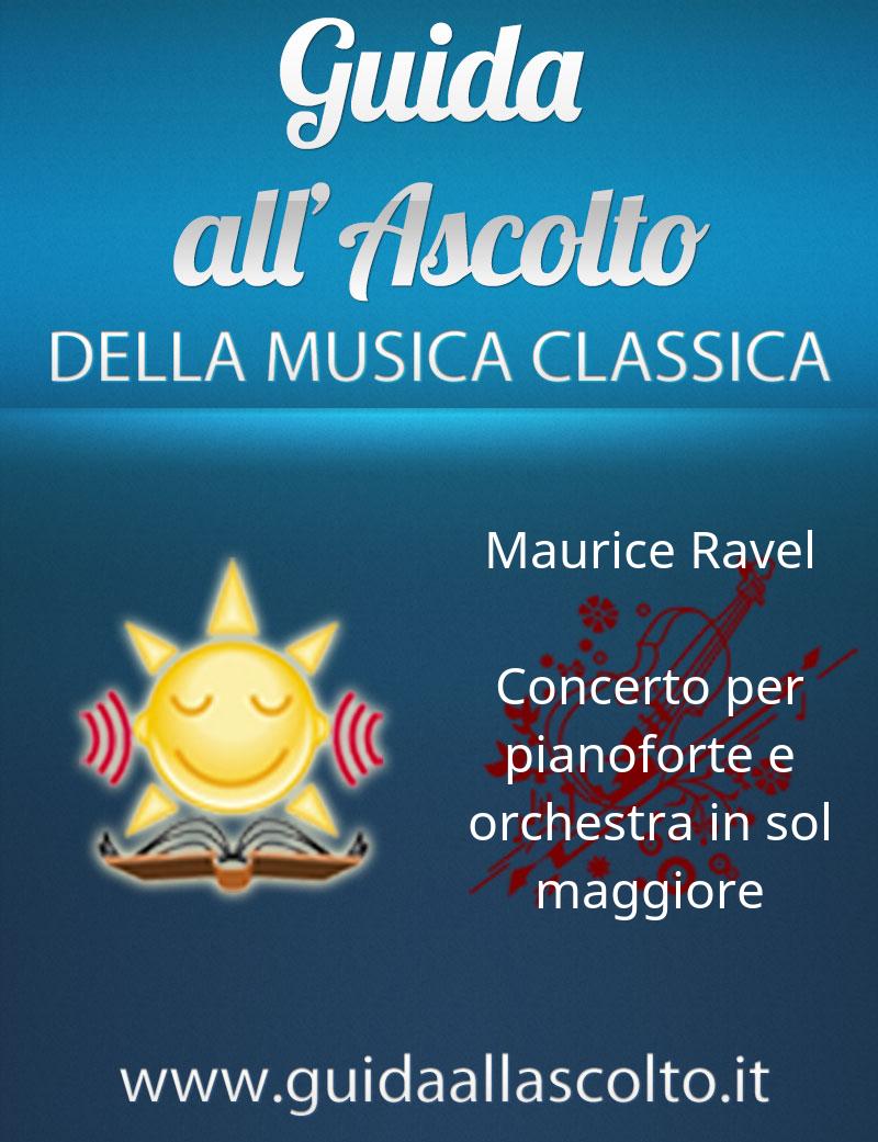Concerto per pianoforte e orchestra in sol maggiore di Maurice Ravel